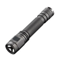 Niteye EC-A12 Rechargeable USB Senter LED CREE XPL 380 Lumens - Black