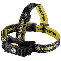 NITECORE HC90 Headlamp Senter LED CREE XM-L2 T6 900 Lumens - Black