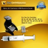 Tool Kit Vacum Tinta Catridge HP 680 678 802 803 703 704 M0H50A M0H51A