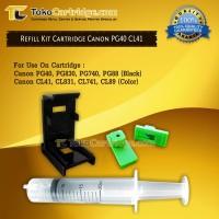 Refill kit Penyedot Tinta Cartridge Canon 40 41 830 831 740 741 88 98
