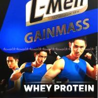Susu LMen Coklat L-men Gainmass whey protein coklat Susu Lmen 225gr