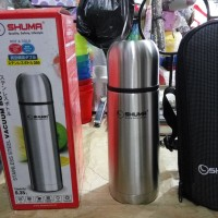SHUMA VACUUM BOTTLE / TERMOS STAINLESS 350ML HOT & COOL
