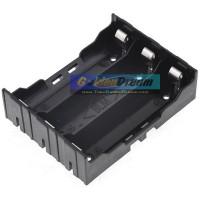 Kotak PARALEL 3 Slot 18650 Holder Battery Batere Batre Casing Parallel