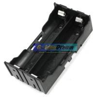 Kotak PARALEL 2 Slot 18650 Holder Battery Batere Batre Casing Parallel