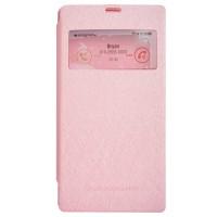 Mercury Wow Bumper Flip Cover Samsung Galaxy A3 - Pink