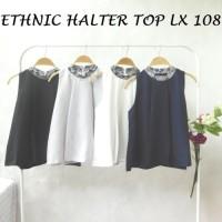 ETHNIC HALTER TOP LX 108