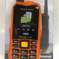 BRANCODE B81 // HP OUTDOOR //HP POWERBANK 2slot SIM card