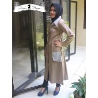 Aletha Dress / Maxi Dress / Outer / Outwear / Vest / Coat / Gamis