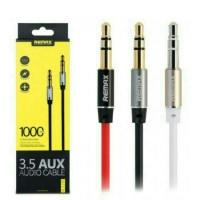 Remax aux 1m audio cable 3.5 | kabel smartphone | speaker