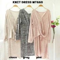 KNIT DRESS MT660