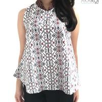 Batik Wanita/ Cheongsam Top/ Batik/ Blouse Batik/ Atasan/ Top