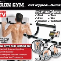 IRON GYM ALAT FITNESS IRON FIT / alat pembentuk otot / alat olahraga