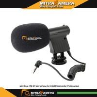 Boya VM-01 Microphone for DSLR Camcorder Professional