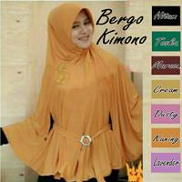 Jilbab / Hijab Instan Bergo Kimono Limited