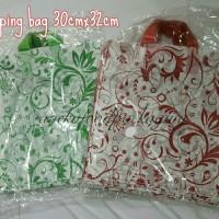 Soft handle/shopping bag/kantong plastik batik 30x32