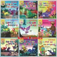 Buku Anak Buku Cerita Bergambar Seri Fabel Bilingual Full Colour