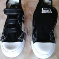 Sepatu Sekolah Mb New Basket Perekat 28 - 33 Sport Shoes
