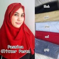 SALE Pasmina Glitter Pesta