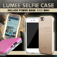 LUMEE - Iphone 6+ dark grey + Power Bank 4000 mAh