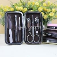 Paket Alat Gunting Kuku Menicure Pedicure Mini (Pocket Steinless)