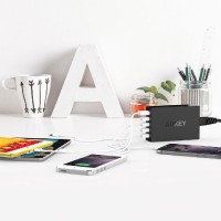 Travel Charger Aukey PA-T1 5 Port Usb