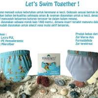 Reusable Swim Diaper / Popok Renang Minikinizz Size 2 (12-16Kg)