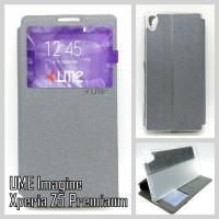 "Flip Soft Case UME ""Imagine"" SONY Xperia Z5 Premium Handphone & Tablet"