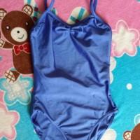 baju biru renang anak import