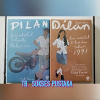Paket Novel Dilan 1 Dan Dilan 2 (Pidi Baiq)