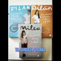 Paket Novel Dilan 1, 2 Dan Milea (Pidi Baiq)