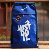tas ransel/gendong/bag pack/tas sekolah/ Nike Just Do It Biru