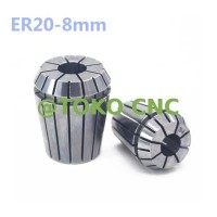 ER20 8mm collet chuck set CNC milling lathe tool spindle motor AX71