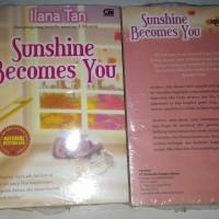 Novel metropop Ilana tan Sunshine becomes you National bestseller