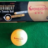 Bola Ping pong / Bola Tenis Meja Power Spin Bintang 3