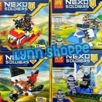 Lego Lele 79312 Nexo Knights Minifigures - 1 set = 4 pcs