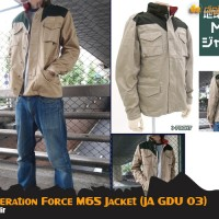 JAKET EARTH FEDERATION FORCE M65 (JA GDU 03)