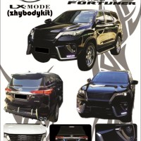 bodykit fortuner LXmode