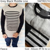 Sweater Fleece Pria   Sweater Rajut Pria   Swater V-neck   Stripe