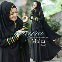 Gamis Syari Maira Black