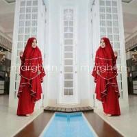 Gamis Syari lalyka Merah