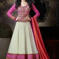 Dress aleeyah + pasmina