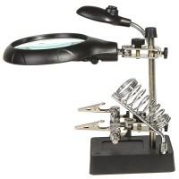 alat toolkit holder solder + luv + lampu cocok buat memperbaiki HP