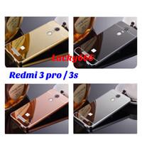 Bumper mirror redmi 3 pro / 3s hard case xiaomi redmi 3 pro 3pro