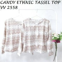 CANDY ETHNIC TASSEL TOP VV 2558