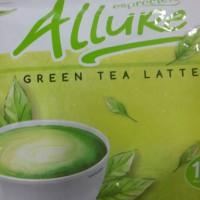 Allure green tea Latte 14 sachet