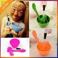 Mangkok Peracik Masker Wajah 4-in-1