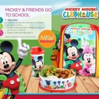 MOORLIFE MICKEY GO TO SCHOOL / TEMPAT MAKAN / NON TUPPERWARE