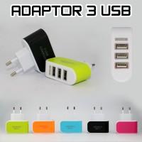 Kepala Charger USB 3 Port Output DC5V-3,1A CO002