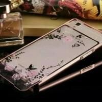 Bumper Flower Diamond Case Samsung Galaxy A3 2016 / A310