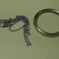 ring chain kalung mini alat sulap gelang ajaib megic trick